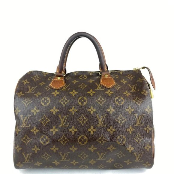 Louis Vuitton Handbags - Louis Vuitton Monogram Speedy 30 Medium Boston